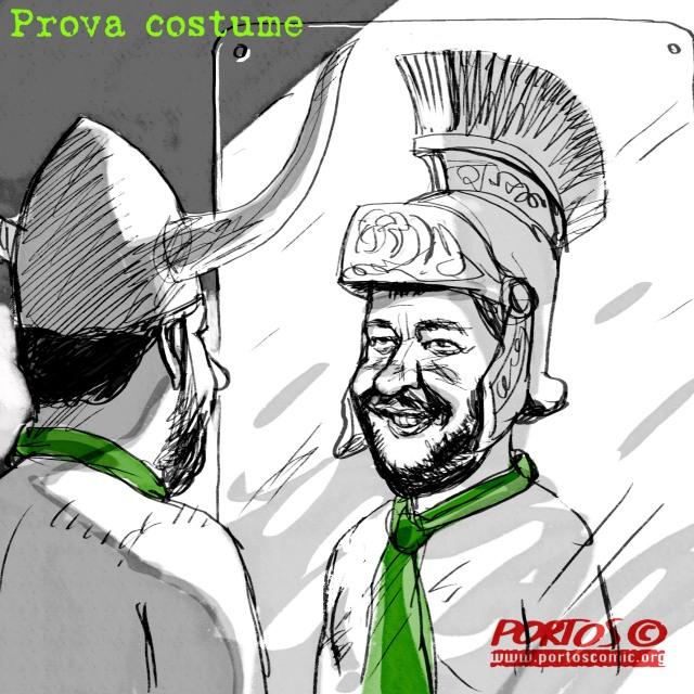 Salvini. Prova costume