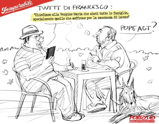 Papa tweet