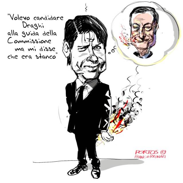 Draghi stanco